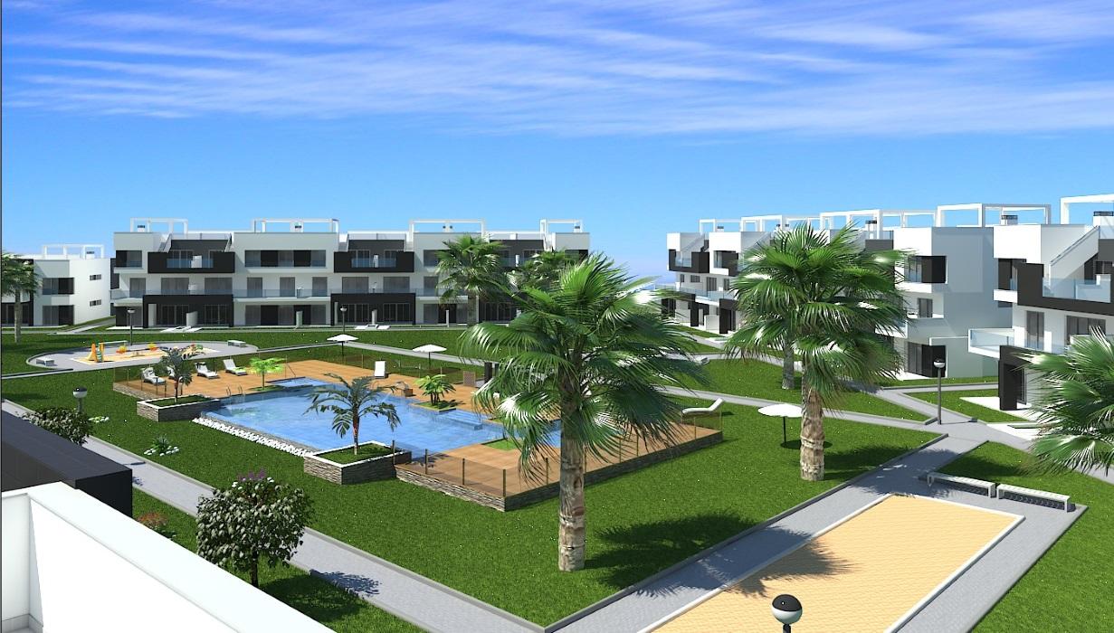 3 und 4 Zimmer Appartements im neuen Oasis Beach X El Raso in Guardamar del Segura