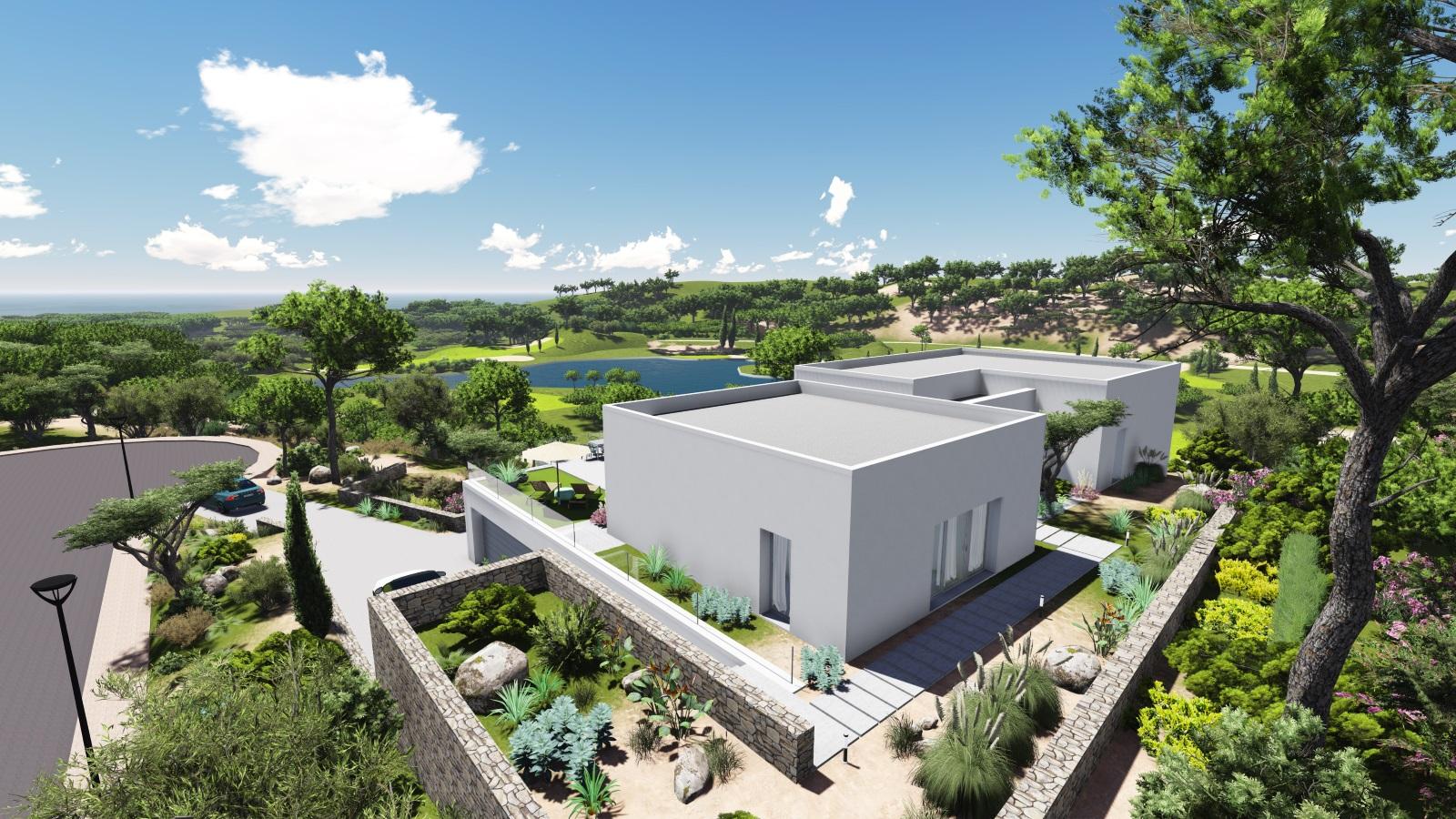 VILLA im LAS COLINAS GOLF & COUNTRY CLUB mit direkter Sicht auf den See und den Golfplatz
