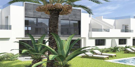 3 Zimmer Bungalows im neuen Flamingo Playa in San Pedro del Pinatar
